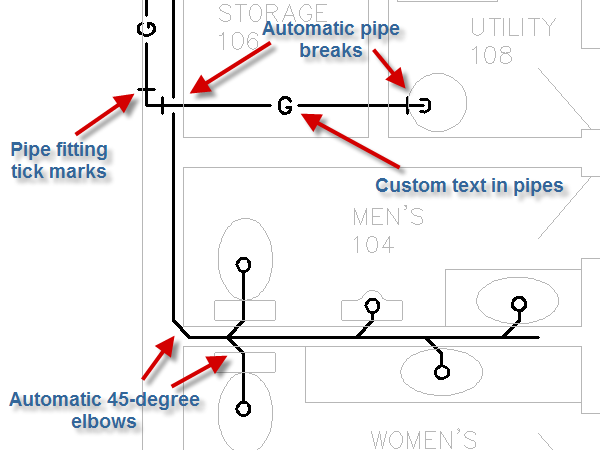 Pipe Fittings Tick Marks