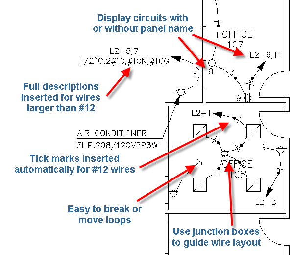 Homeruns_and_Loops_2 home run wiring diagram home run electrical wiring \u2022 wiring  at panicattacktreatment.co