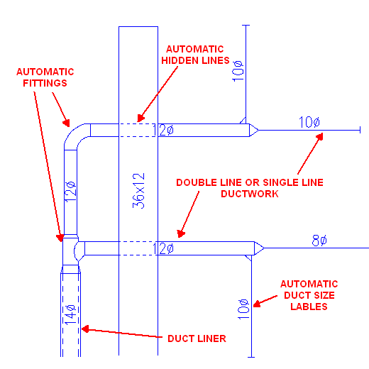 2d ductwork drafting